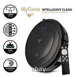 MyGenie ZX1000 Automatic Robotic Vacuum Cleaner Dry Wet Mop Sweep Rechargeable