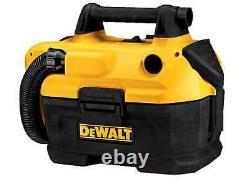 NEW Durable DEWALT 2-Gallon Shop/Car Vacuum Battery-Powered Portable Vac Wet/Dry