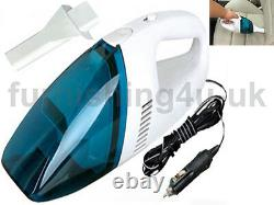 New 12v Electric Portable Handheld Car Vacuum Cleaner For Car Van Auto Hoover