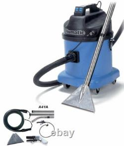 New Numatic CTD570-2 Twin Motor Commercial CARPET CLEANING Car Valeting Vacuum