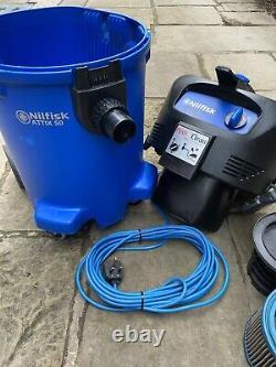 Nilfisk Wet Dry Vacuum Cleaner AC Attix 50-01 PC 302003631 RRP £400