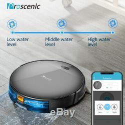 Proscenic 800T Alexa Robotic Vacuum Cleaner Carpet PetHair Dry Wet Mopping Sweep
