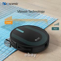Proscenic 850P Alexa Robotic Vacuum Cleaner Sweep Auto Dry Wet Mopping 3000Pa