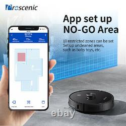 Proscenic M7 Pro Laser Robotic Vacuum Cleaner Dry Wet Mopping With dust collector