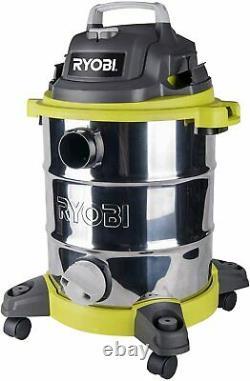 Ryobi RVC-1530IPT-G 1500w 30L Wet & Dry Vacuum Free 90 Day Guarantee