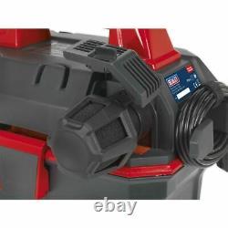 Sealey GV180WM Garage Vacuum 1500W with Remote Control Wall Mounting