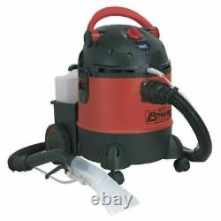 Sealey PC310 Valeting Machine Wet & Dry with Accessories 20ltr 1250With230V