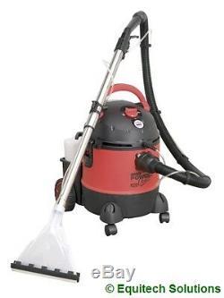 Sealey Tools PC310 Wet Dry Vacuum Valet Valeting Machine Carpet Washer Cleaner
