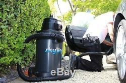 SkyVac Atom Wet & Dry Gutter Cleaning Vacuum 10.5 metres (34 feet) Reach