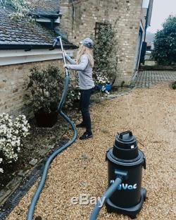 SkyVac Atom Wet & Dry Gutter Cleaning Vacuum 10.5M / 34Ft Non-Recordable Camera