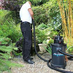 SkyVac Atom Wet & Dry Gutter Cleaning Vacuum 6M/20Ft Non-Recordable Camera