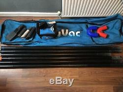 SkyVac Atom Wet & Dry Gutter Cleaning Vacuum 9M/30Ft Non-Recordable Camera