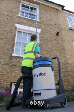SkyVac Commercial Wet & Dry Vacuum Gutter Cleaning Machine 8 Pole (12m/40ft)