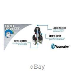 Vacmaster Industrial Vacuum HEPA Filter 15 Litre Wet / Dry 1500 watts Poly Tank