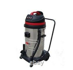 Viper LSU395L SS Industrial Commercial 3000w 95L Wet & Dry Vacuum Cleaner