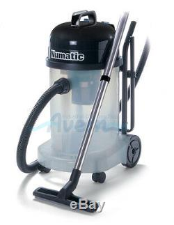 WV470 WVT470 Wet & Dry Vacuum Cleaner Transparent Commercial Numatic 1060W