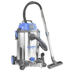 Wet And Dry Vacuum Cleaner Hoover 20L 100L Range Litre Blower Vac 3 In 1 HYUNDAI