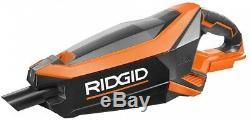Wet Dry Hand Vacuum Cordless Lithium Ion Vac RIDGID 18V Brushless Motor Filter