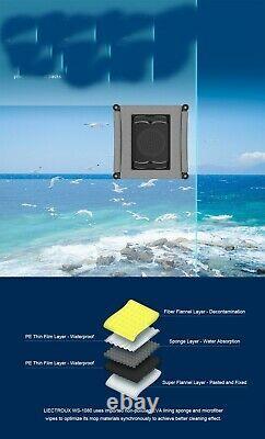 Windows Robot Cleaner Laser Sensor App Control Vacuum Antifall Glass Mop Wall Us