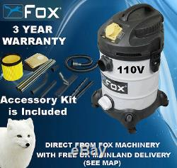 Woodworking Woodturning Fox F50-800 Dust Extractor 110V Vacuum Hoover