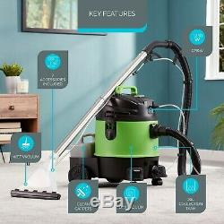 Zennox 3 in 1 20L Wet & Dry Vacuum & 1250W Carpet Washer Upholstery Cleaner NEW